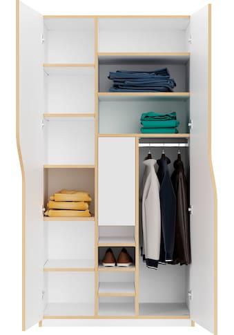 Müller SMALL LIVING Kleiderschrank »PLANE Ausstattung Nr. 5« kaufen