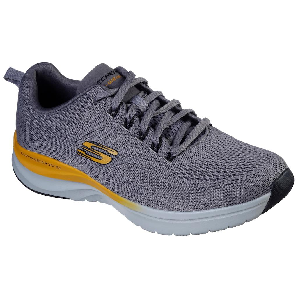 Skechers Sneaker »ULTRA GROOVE«, mit Kontrast-Details