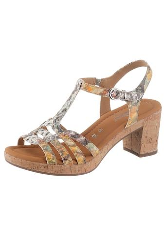 Gabor Sandalette, mit verstellbarer Schnalle kaufen
