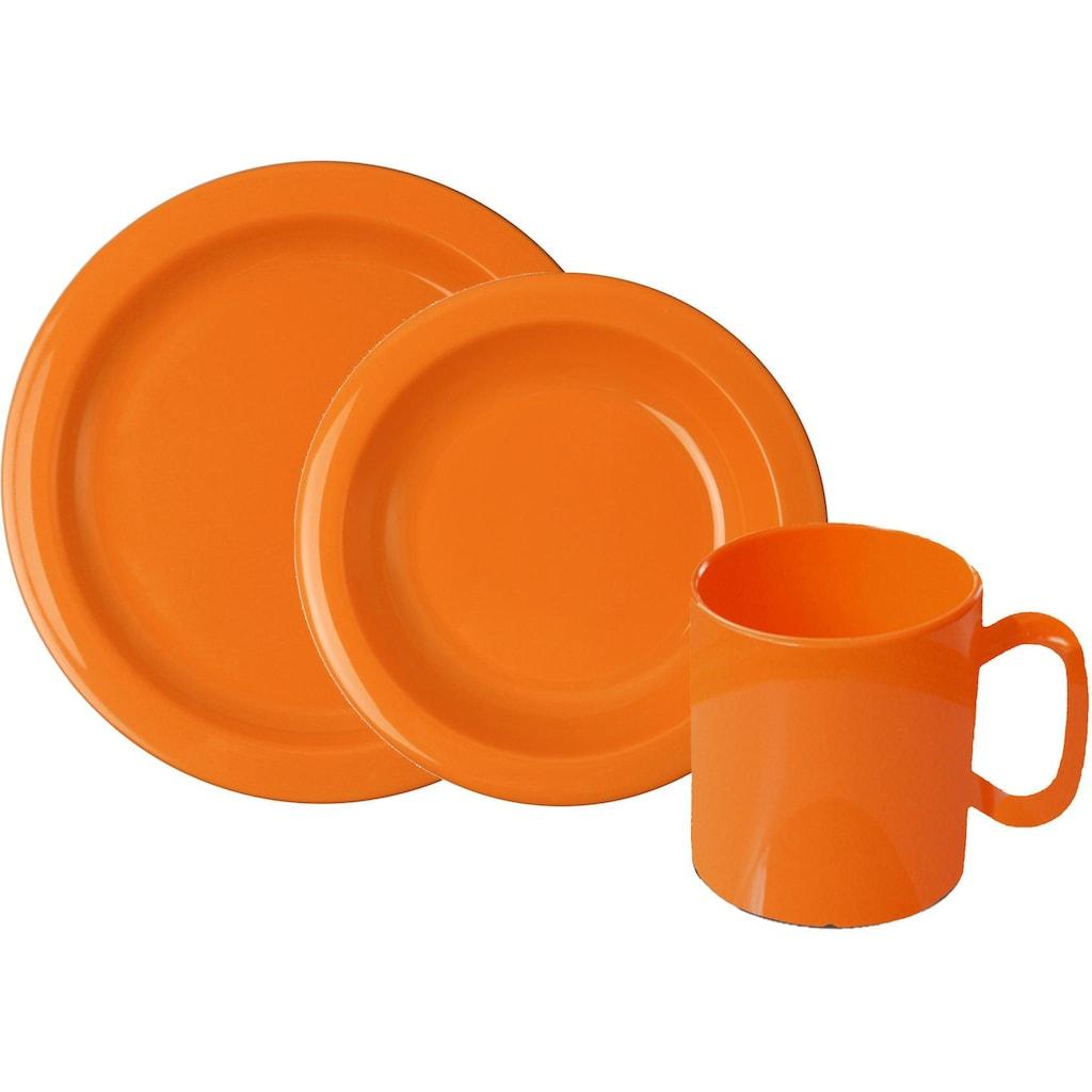 WACA Frühstücks-Geschirrset, (Set, 6 tlg.)