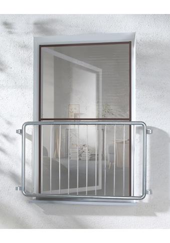 hecht international Insektenschutz-Fenster »MASTER SLIM XL«, braun/anthrazit, BxH: 130x220 cm kaufen