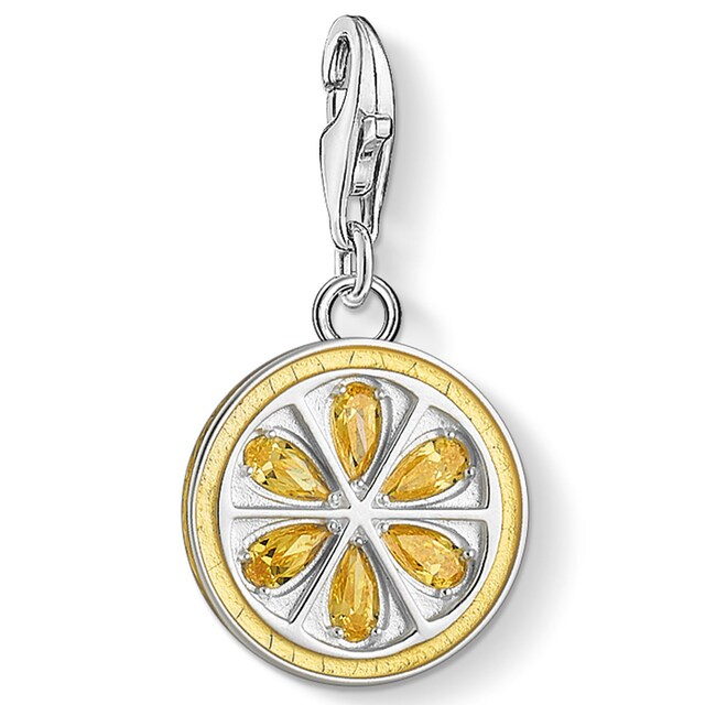 THOMAS SABO Charm-Einhänger »Zitrone, 1835-041-4«