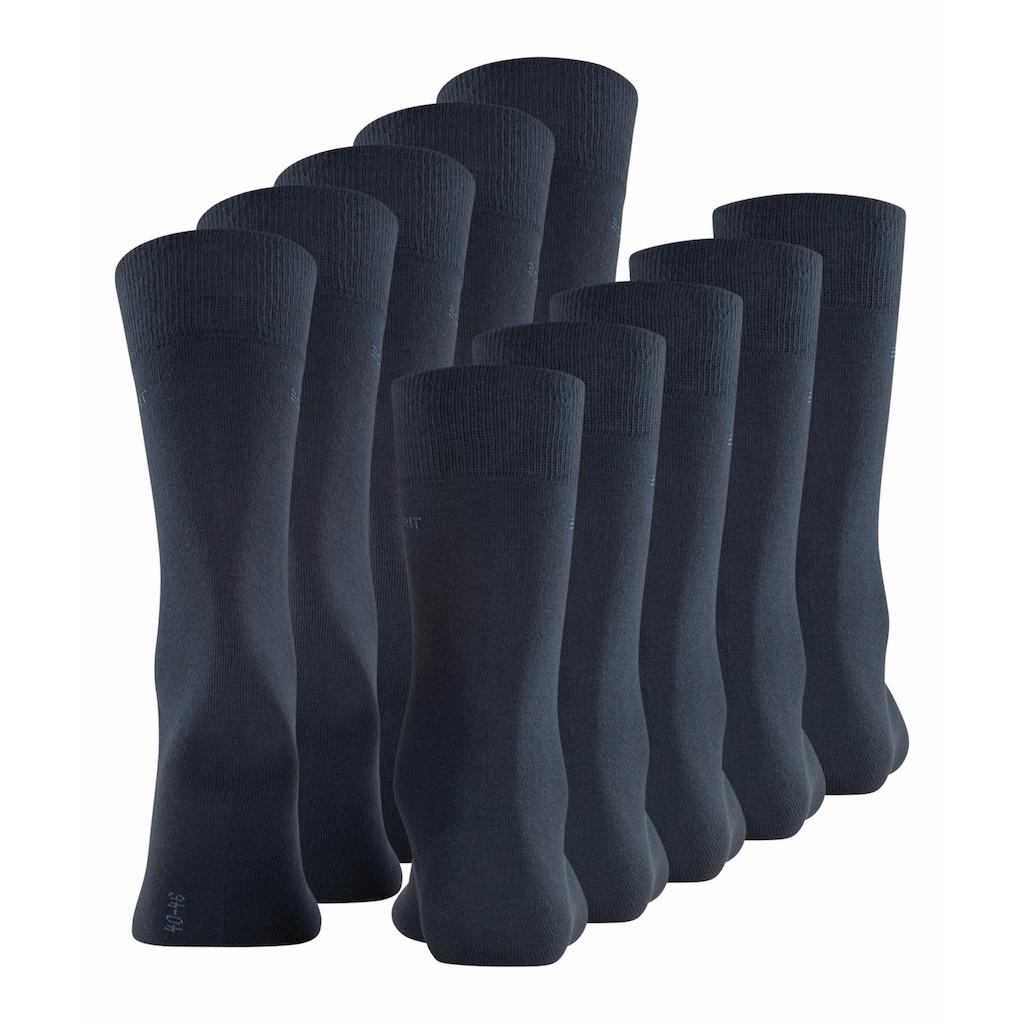 Esprit Socken »Uni 5-Pack«, (5 Paar), aus hautfreundlicher Baumwolle