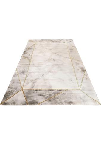 Teppich, »#M.A.R.B.L.E & B«, Wecon home, rechteckig, Höhe 12 mm, maschinell gewebt kaufen