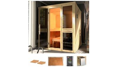 weka Sauna »Classic«, 7,5 kW Bio-Kombiofen mit ext. Strg. kaufen