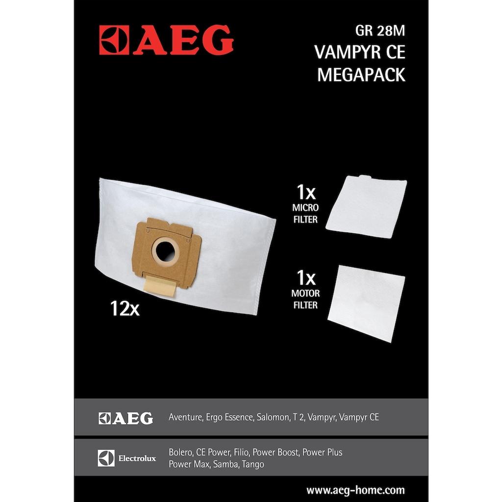 AEG Staubsaugerbeutel »CE PW24TRE«, Gr28 M für Vampyr CE
