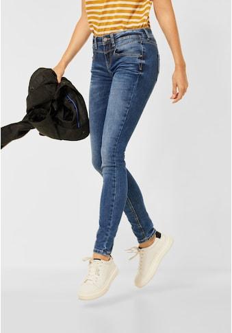 STREET ONE Slim-fit-Jeans, 4-Pocket Style kaufen