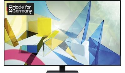 "Samsung QLED-Fernseher »GQ55Q80T«, 138 cm/55 "", 4K Ultra HD, Smart-TV kaufen"