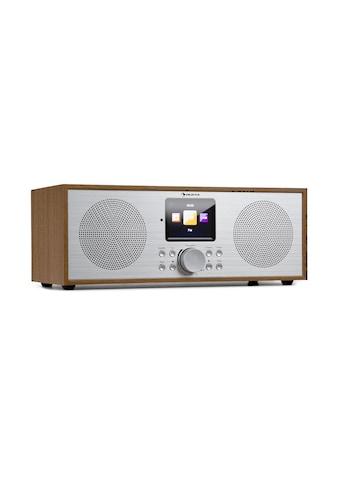 Auna Internet DAB+/UKW Radio WiFi BT Eiche »Silver Star Stereo« kaufen