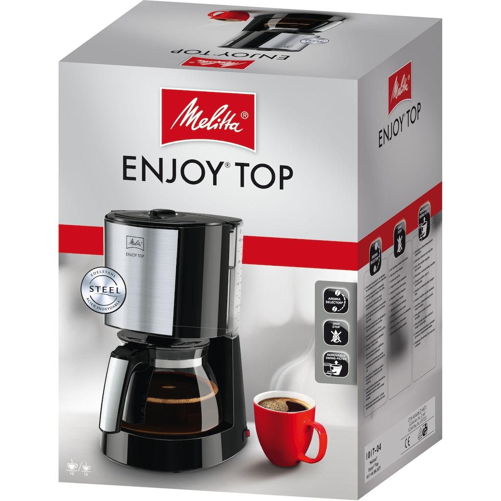 Melitta Filterkaffeemaschine »Enjoy Top 1017-04«, Papierfilter, 1x4, mit Glaskanne