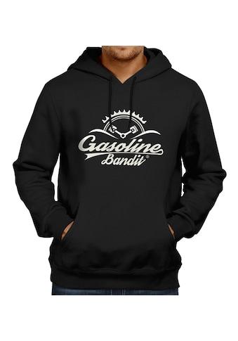GASOLINE BANDIT® Kapuzenpullover mit coolem Logo-Print kaufen