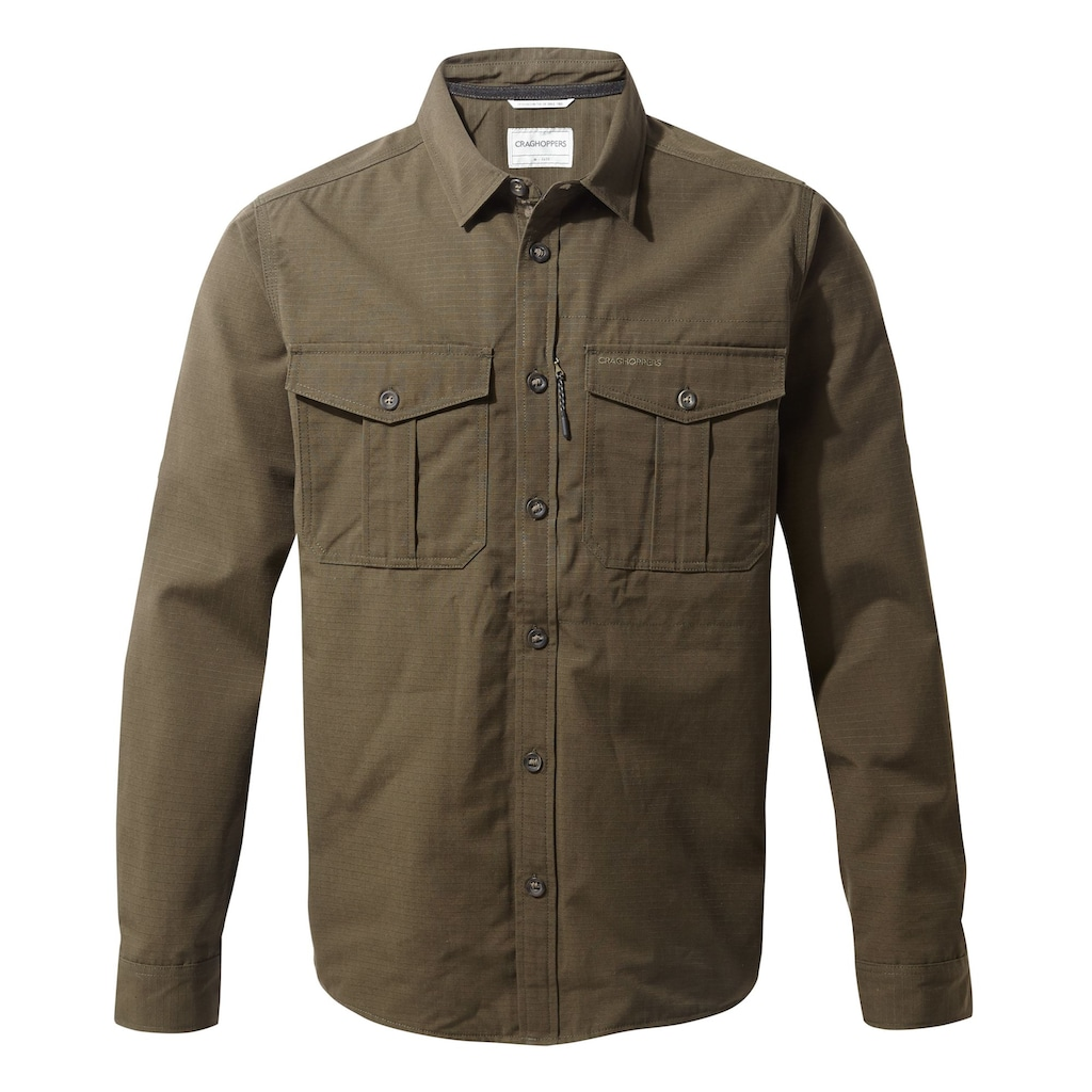 Craghoppers Langarmhemd »Herren Kiwi Ripstop«