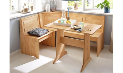 Home Affaire Eckbankgruppe »Sascha« Mit Tisch Und Truhen   Eckbank Kaufen