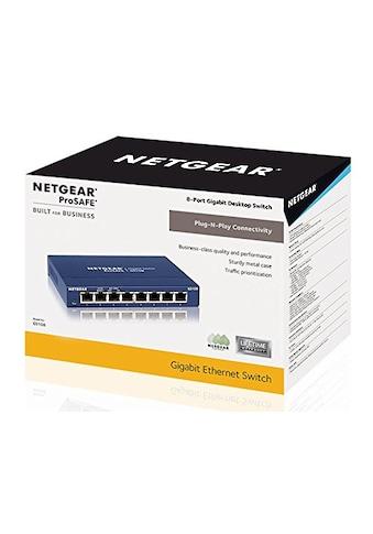 NETGEAR 8 Port Gigabit Kupfer Switch »GS108GE« kaufen