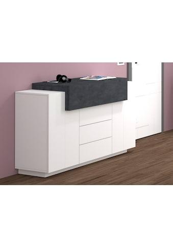 Tecnos Kommode »Coro«, Breite 160 cm, Hochglanzfronten kaufen