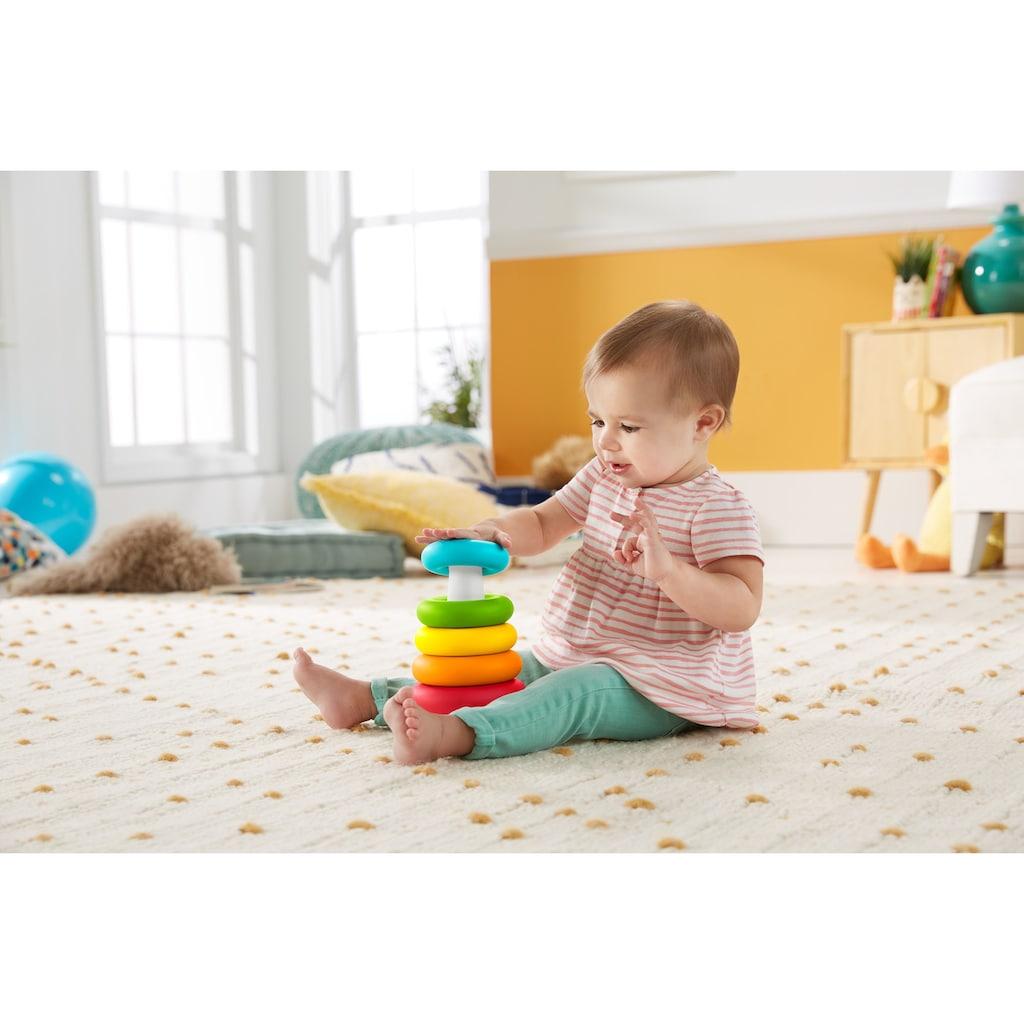 Fisher-Price® Stapelspielzeug »Stapel & Sortier Spielset«, aus pflanzlichen Materialien