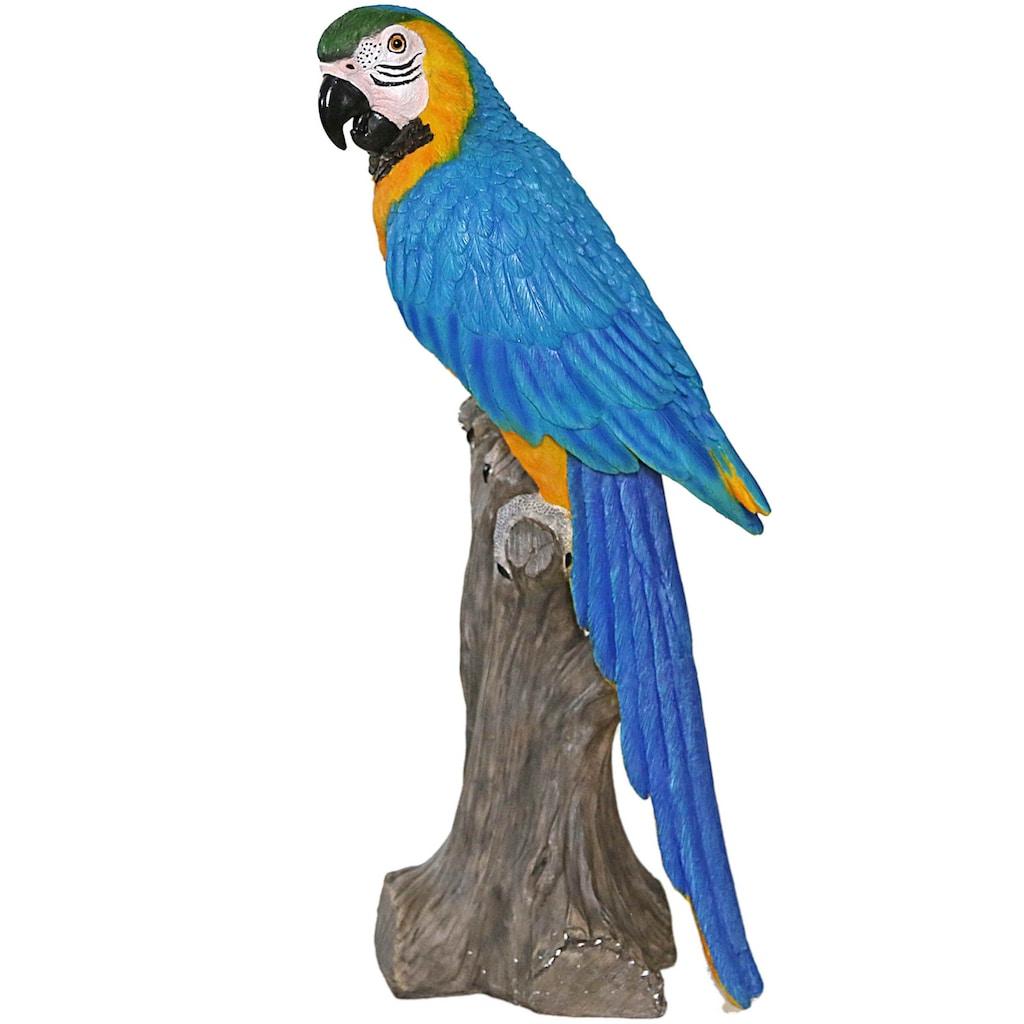 Casa Collection by Jänig Tierfigur »Papagei auf Stamm sitzend, Höhe ca. 61cm«