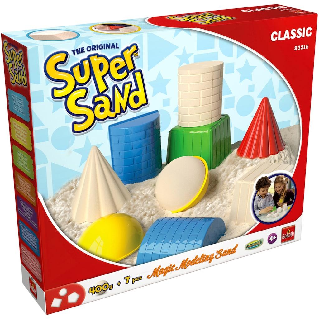 Goliath® Knetsand »Super Sand Classic«, inkl. Förmchen