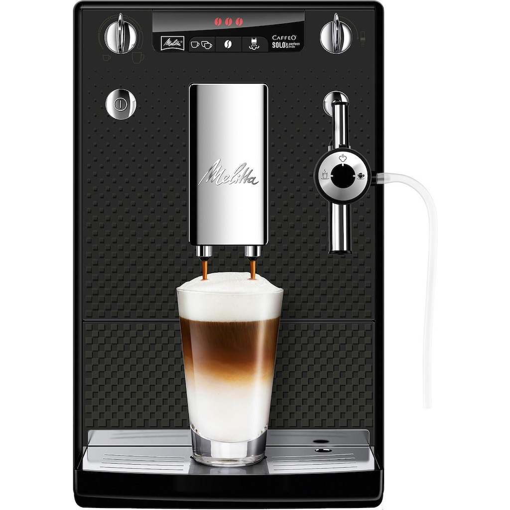 Melitta Kaffeevollautomat »Solo & Perfect Milk Deluxe E957-305«