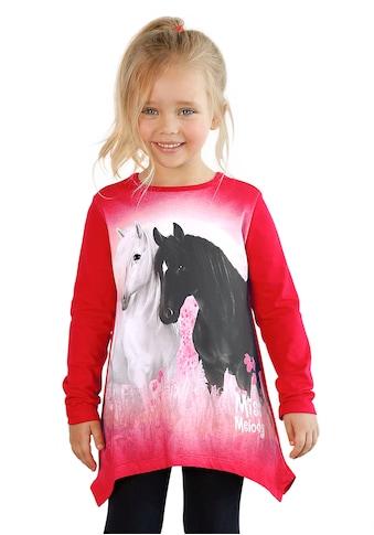 Miss Melody Zipfelshirt, mit schönem Pferde-Motiv kaufen