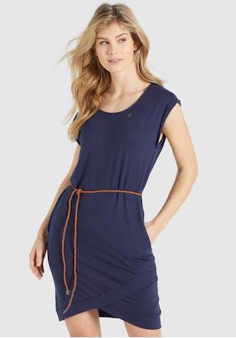 khujo Shirtkleid »CAJSA«, Sommerkleid mit Bindeband in der Taille kaufen