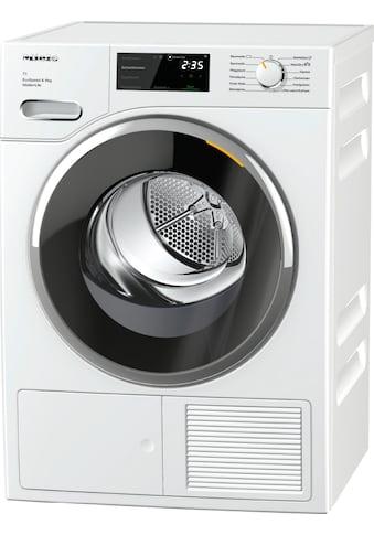 Miele Wärmepumpentrockner »Miele Wärmepumpentrockner TWF660 WP EcoSpeed & 8kg T1 Lotosweiß« kaufen