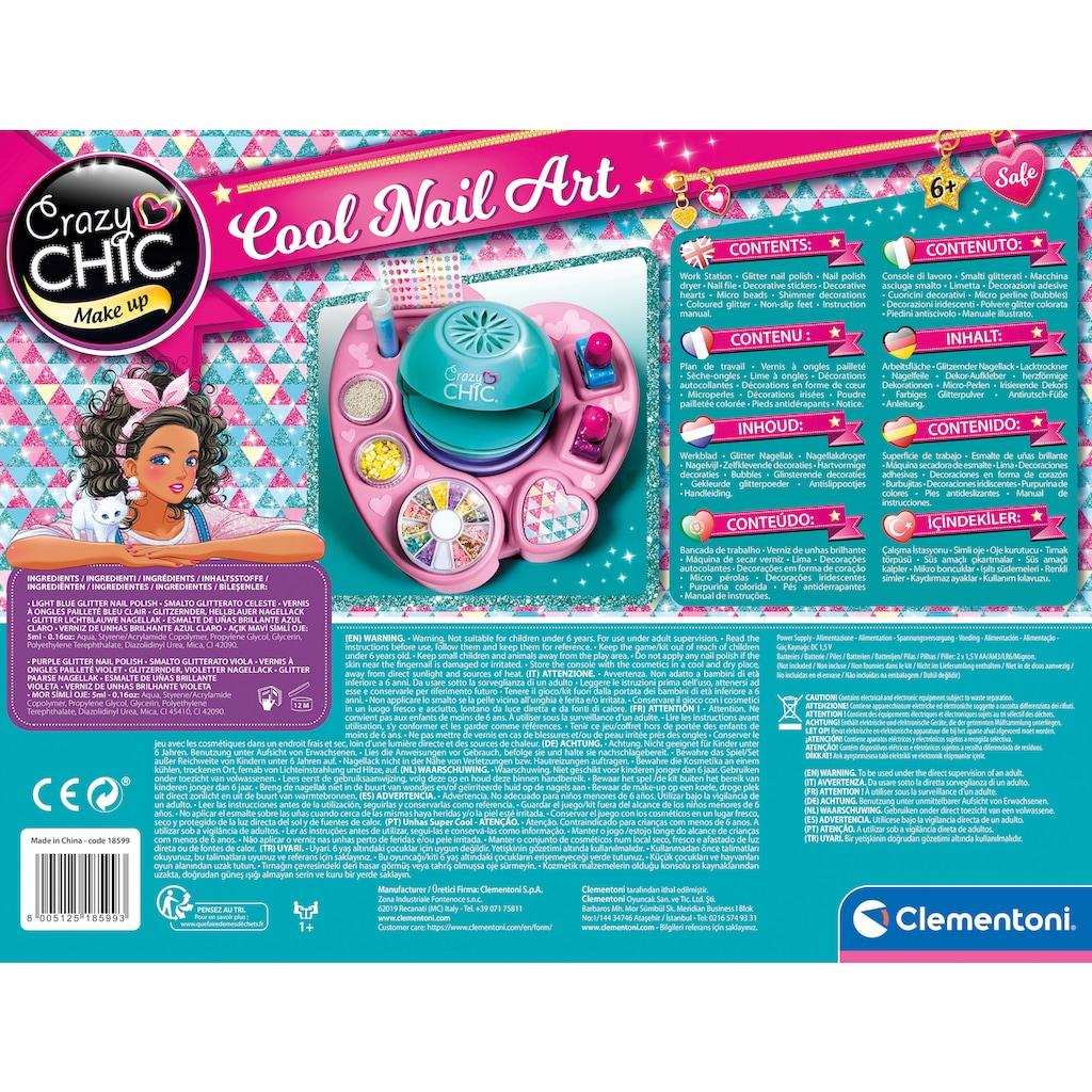 Clementoni® Kreativset »Crazy Chic - Cool Nail Art«