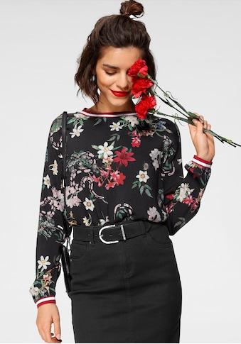 Tamaris Schlupfbluse, mit besonderem Print kaufen