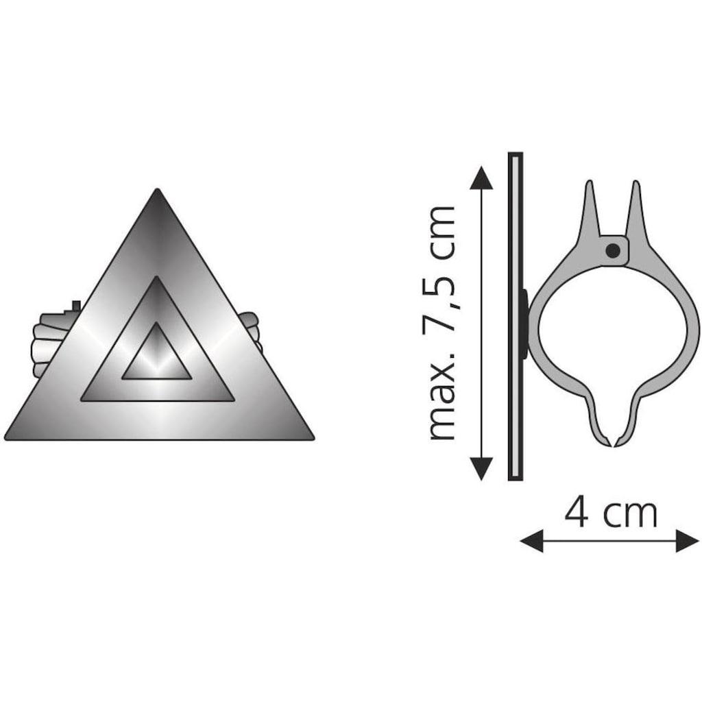 Liedeco Dekoklammer »Grafik«, (Packung, 2 St.), für Gardinen, Vorhänge