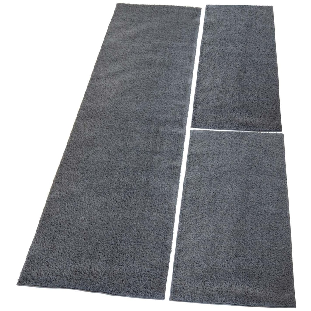 Carpet City Bettumrandung »Softshine 2236«, besonders weich durch Microfaser