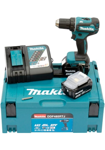Makita Akku-Bohrschrauber »DDF485RTJ«, inkl. 2 Akkus, Ladegerät & Koffer kaufen