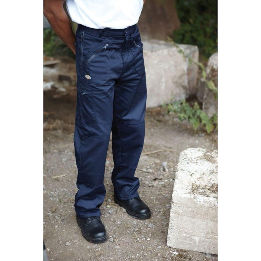 Dickies Funktionshose »Diskies Redhawk Action Arbeitshose für Männer, kurze Beinlänge«