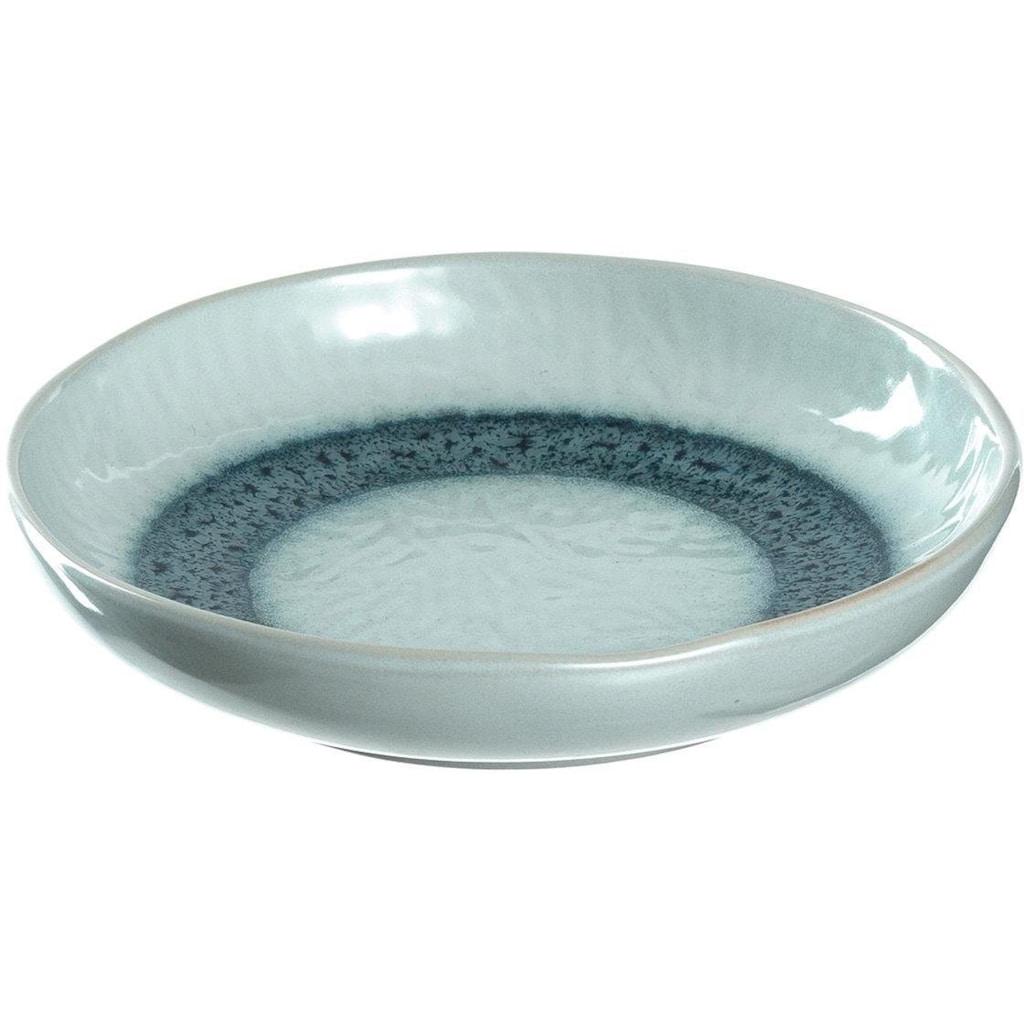 LEONARDO Suppenteller »Matera«, (Set, 6 St.), Keramik, Ø 21 cm