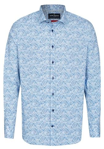 Daniel Hechter Shape Fit Batik Hemd kaufen