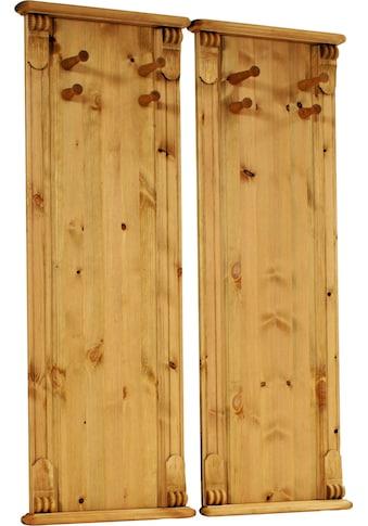 Home affaire Wandpaneel »Tessin«, aus massiver Kiefer (2er Set) kaufen