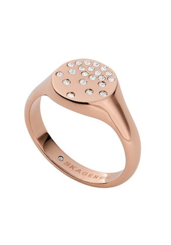 Skagen Fingerring »SKJ1485791«, mit Glassteinen kaufen