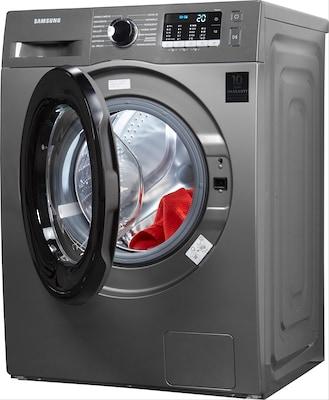 Waschmaschine Frontlader von Samsung in Grau