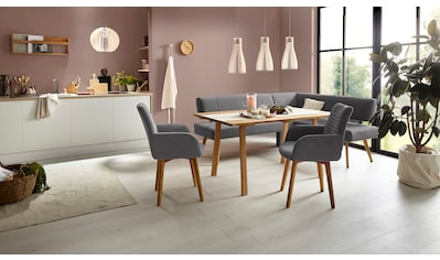 OTTO products Eckbank »Alessja«, Breite langer Schenkel 192 oder 212 cm, Bezug aus... kaufen