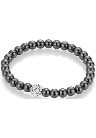 Firetti Armband, mit Hämatit und Kristallsteinen kaufen