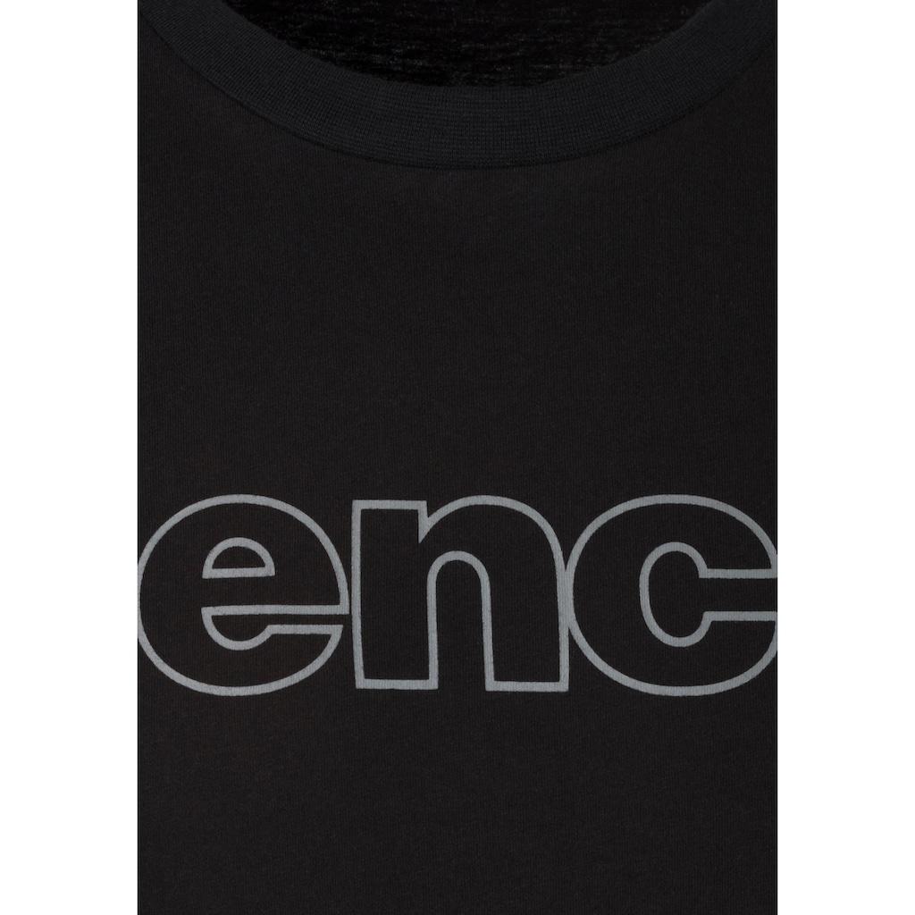 Bench. T-Shirt »Homewear«, mit Bench. Print vorn