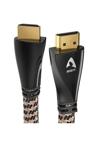 AVINITY High Speed HDMI - Kabel, Ethernet, »Gewebe und vergoldet« kaufen