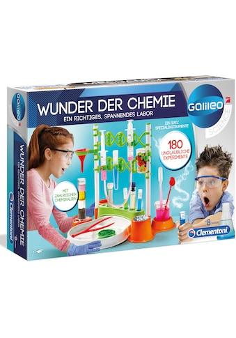 Clementoni® Experimentierkasten »Galileo - Wunder der Chemie«, Made in Europe kaufen