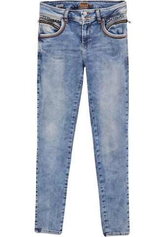 LTB Slim-fit-Jeans »ROSELLA X«, mit schmalem Bein, normaler Leibhöhe und vielen... kaufen