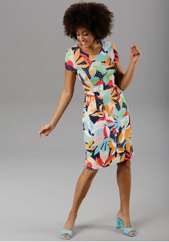Aniston SELECTED Sommerkleid, im farbenfrohen Druck kaufen
