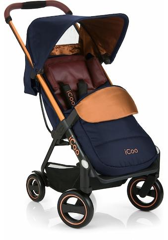 iCoo Kinder-Buggy »Acrobat Copper Blue«, mit leichtem und stylischem Aluminiumgestell;... kaufen