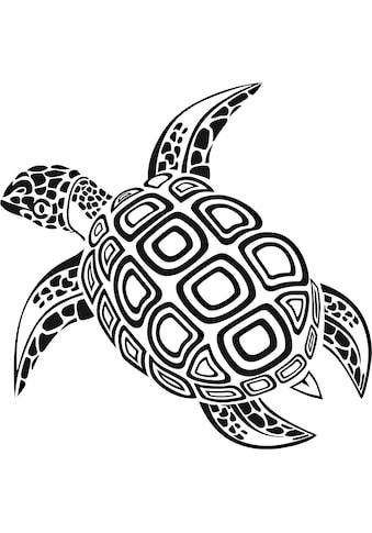 Wall-Art Wandtattoo »Schildkröte« kaufen