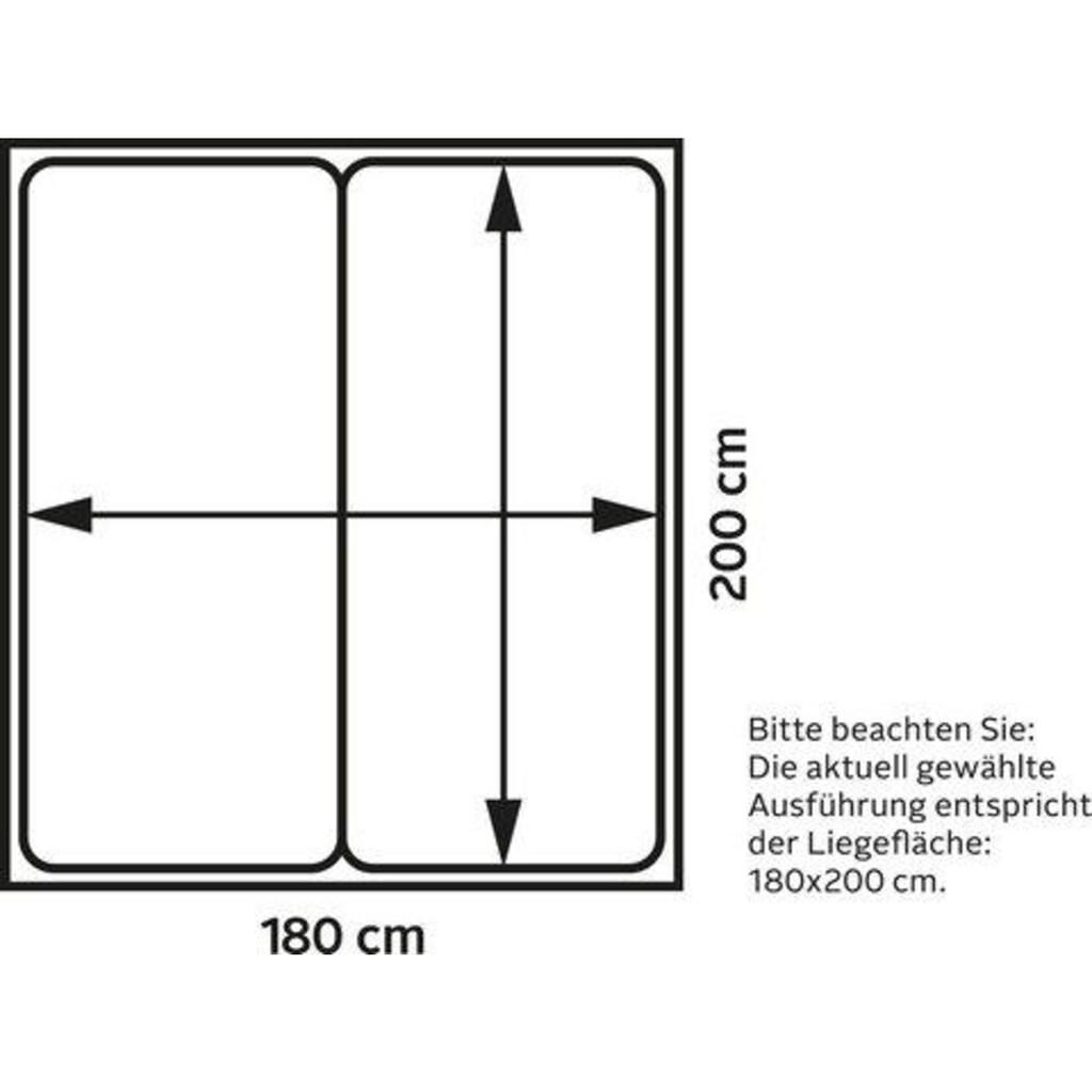 ADA premium Boxspringbett »Levia«, BK KH TF 1000 PM, Matratze mit integriertem Topper