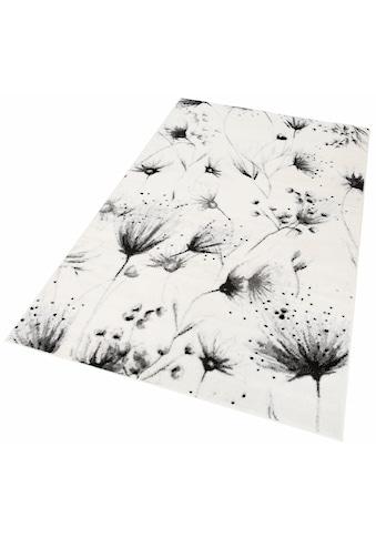 Guido Maria Kretschmer Home&Living Teppich »Pencil Flowers«, rechteckig, 8 mm Höhe, Wohnzimmer kaufen