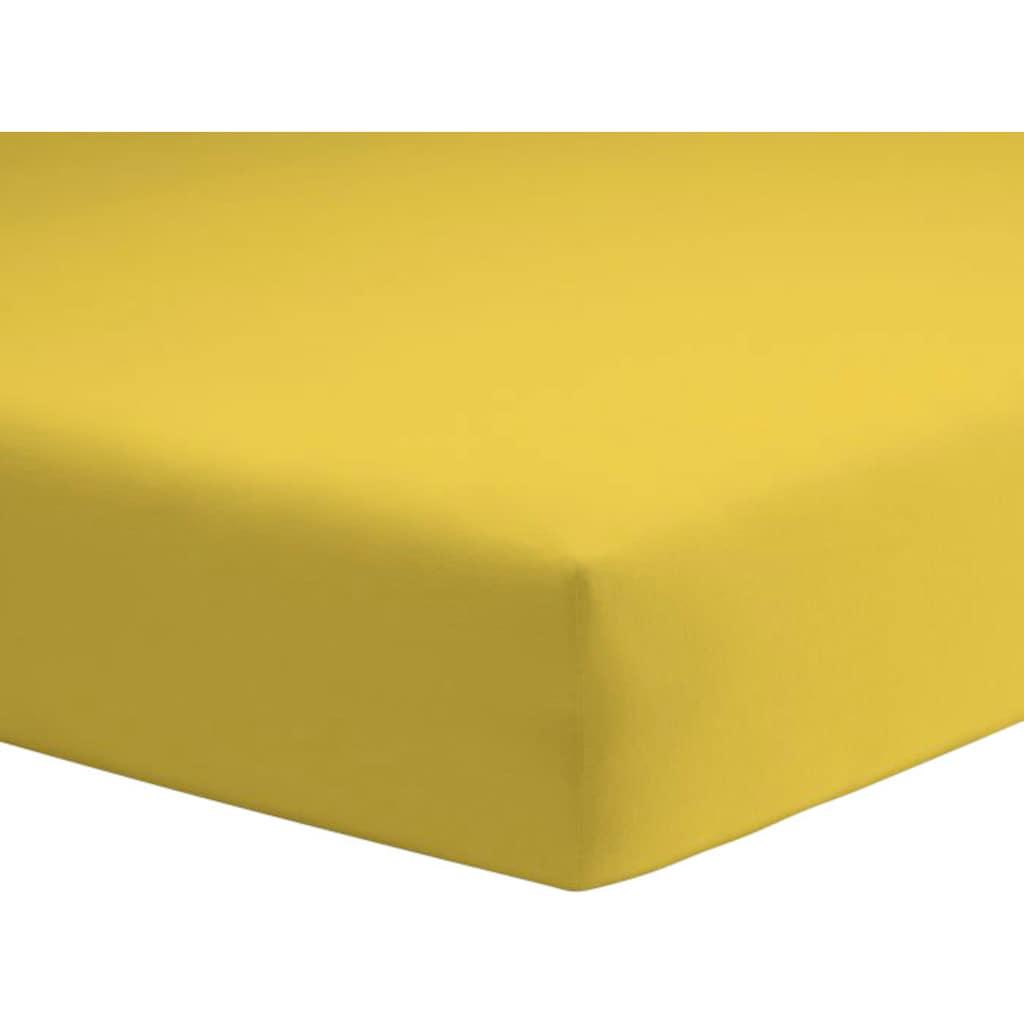 Schlafgut Spannbettlaken »Mako-Jersey«, pflegeleicht und saugfähig