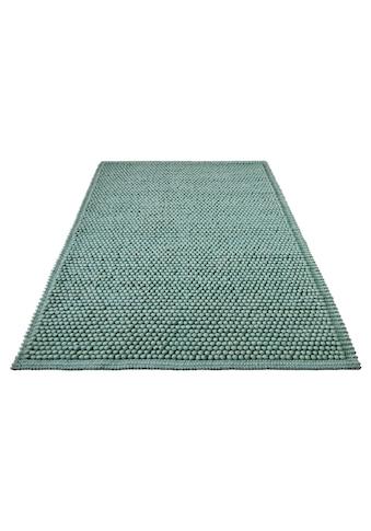 Wollteppich, »Seebu Loop«, Home affaire, rechteckig, Höhe 10 mm, handgewebt kaufen